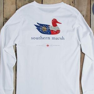 SOUTHERN MARSH Long Sleeve Authentic Heritage Tee